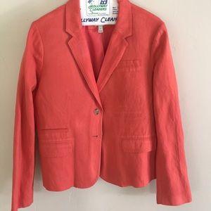 J. Crew Jackets & Coats - J Crew Linen Blazer
